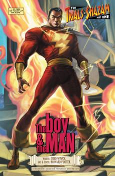 Extrait de The trials of Shazam (DC comics - 2006) -1- The Wizard Is Dead...Long Live Shazam!
