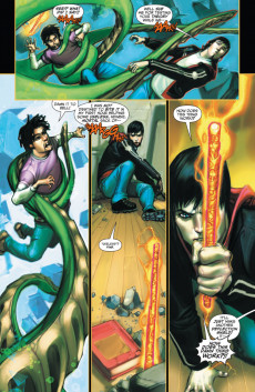 Extrait de The trials of Shazam (DC comics - 2006) -3- Magic Gone Mad! The Council of Merlin is Watching!