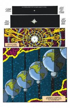 Extrait de Crisis on infinite earths -INTa- Crisis on Infinite Earths