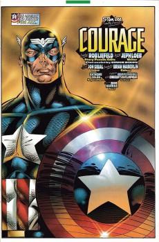 Extrait de Captain America (1996) -1- Courage