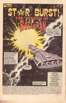 Extrait de Solarman (1989) -1- Star burst! The legend of Solarman