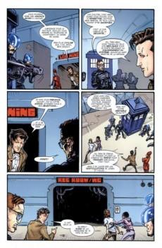 Extrait de Doctor Who - Les nouvelles aventures du onzième docteur -1- Au-delà
