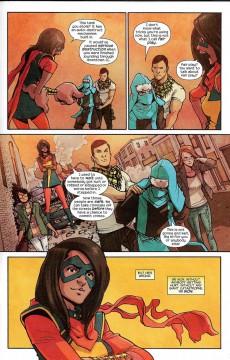 Extrait de Ms. Marvel (2016) -8- Civil War II - Ms. Marvel