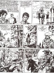 Extrait de Jerry Spring (Collection Spéciale grand format) -1- Le Duel + Golden Creek