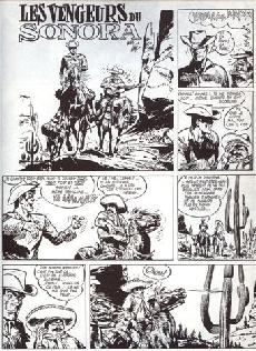 Extrait de Jerry Spring (Collection Spéciale grand format) -2- Les Vengeurs du Sonora + Lune D'Argent