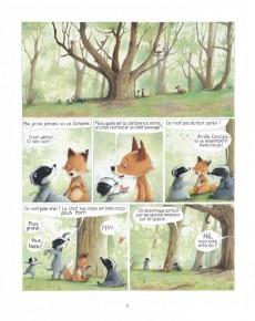 Extrait de Monsieur Blaireau et Madame Renarde -6- Le Chat Sauvage