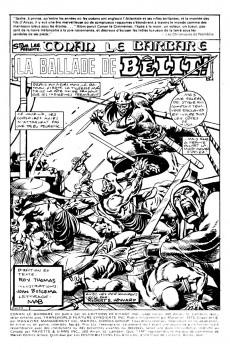 Extrait de Conan le barbare (Éditions Héritage) -44- La ballade de Bêlit
