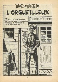 Extrait de Tex-Tone -423- L'orgueilleux