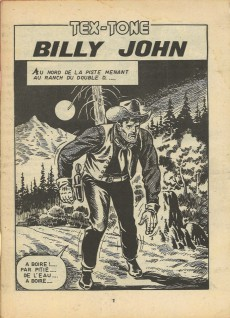 Extrait de Tex-Tone -436- Billy John