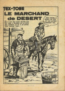 Extrait de Tex-Tone -380- Le marchand de désert