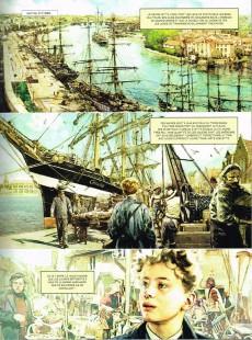 Extrait de Jules Verne et l'astrolabe d'Uranie -1- Tome 1/2