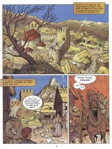 Extrait de Les aigles décapitées -7a95- La prisonnière du donjon
