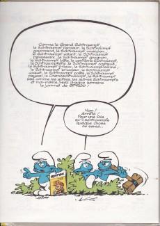 Extrait de Les schtroumpfs -6a70a- Le cosmoschtroumpf