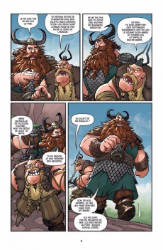 Extrait de Dragons (DreamWorks) -5- La légende de Ragnarök