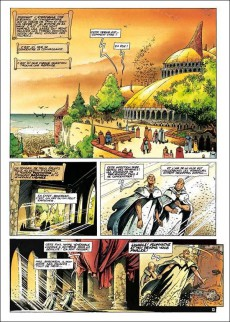 Extrait de Lanfeust de Troy -3e11- Castel Or-Azur