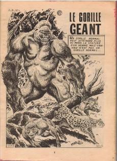 Extrait de Kalar -160- Le gorille géant