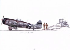 Extrait de Histoires d'avions -2- Les chasseurs de la Seconde Guerre