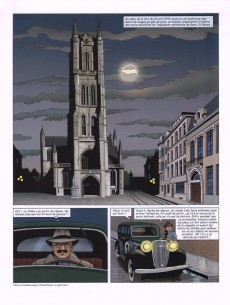 Extrait de Harry Dickson -11- Le messager des dieux et le vol de l'agneau mystique