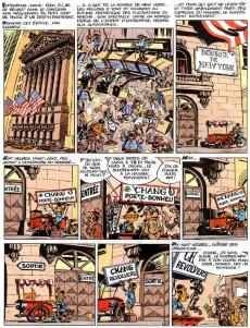 Extrait de Spirou et Fantasio -39Pub2- Spirou et fantasio a new york