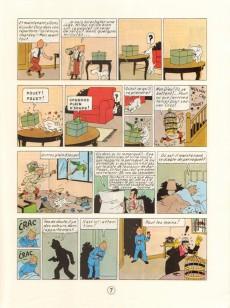 Extrait de Tintin (Historique) -6C6bis- L'oreille cassée