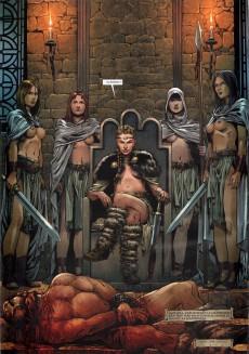 Extrait de Merlin (Nucléa/Soleil) -12- La reine de sang