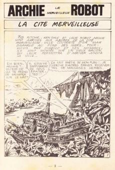 Extrait de Archie (Jeunesse et Vacances) -22- La cité merveilleuse