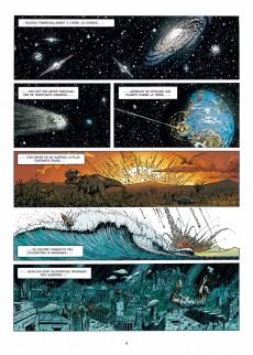 Extrait de La grande Guerre des Mondes -1- La Chose sous les tranchées