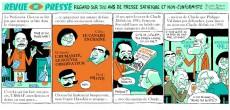 Extrait de Revue de presse - Revue de presse - Petite histoire des journaux satiriques et non-conformistes