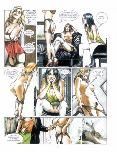 Extrait de Sex in Italy -INT01- Tomes 1 & 2