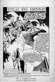 Extrait de Le fils de Satan -10- Fantasmes