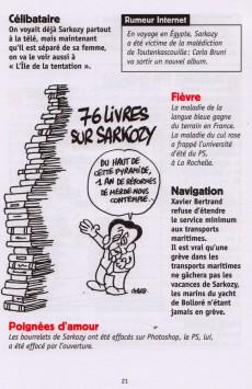 Extrait de Charlie Hebdo - Les brèves de Charlie Hebdo
