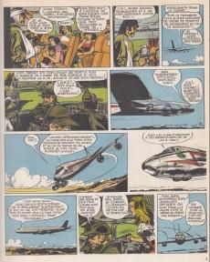 Extrait de Tanguy et Laverdure -18b1988- Un DC-8 a disparu