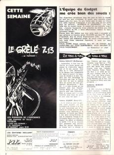 Extrait de Pif (Gadget) -86- L'encre invisible...