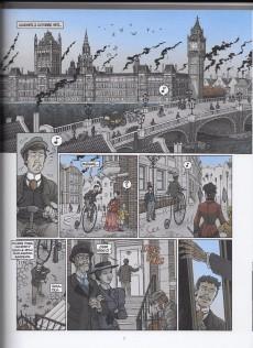 Extrait de Les grands Classiques de la littérature en bande dessinée (Glénat/Le Monde) -1- Le tour du monde en 80 jours