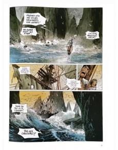 Extrait de Long John Silver -3a10- Le labyrinthe d'Émeraude