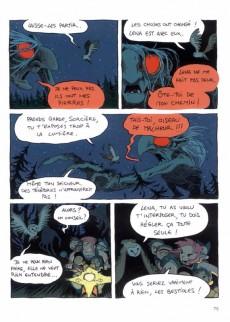 Extrait de Le collège noir -1- Le livre de la lune