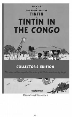 Extrait de Chronique de la BD -1- L'Affaire Tintin au Congo