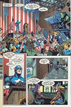 Extrait de Captain America (1998) -6- Power and Glory 2 : Exposé