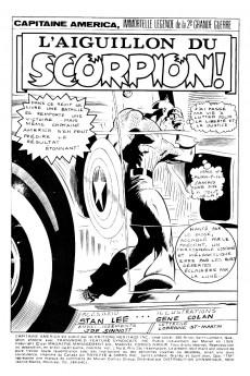 Extrait de Capitaine America (Éditions Héritage) -8- L'aiguillon du Scorpion!