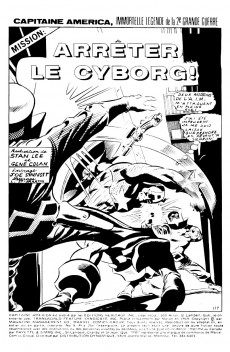 Extrait de Capitaine America (Éditions Héritage) -9- Mission: Arrêter le Cyborg!