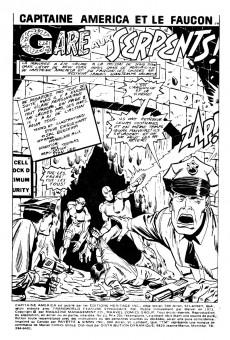 Extrait de Capitaine America (Éditions Héritage) -23- Gare aux serpents!