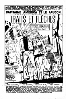 Extrait de Capitaine America (Éditions Héritage) -39- Traits et flèches!