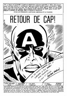 Extrait de Capitaine America (Éditions Héritage) -44- Retour de Cap!