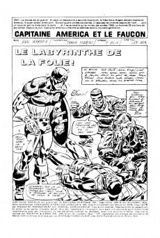 Extrait de Capitaine America (Éditions Héritage) -47- Le labyrinthe de la folie!