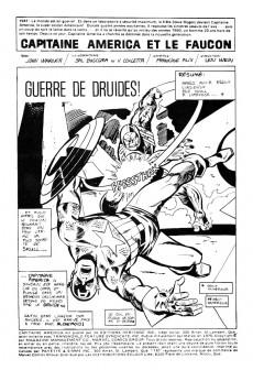 Extrait de Capitaine America (Éditions Héritage) -48- Guerre de druides !