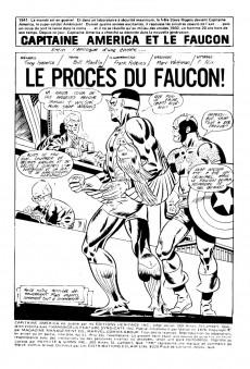 Extrait de Capitaine America (Éditions Héritage) -51- Le procès du Faucon!