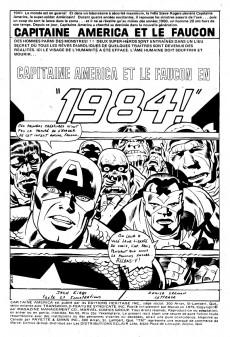Extrait de Capitaine America (Éditions Héritage) -55- Capitaine America et le Faucon en 1984!
