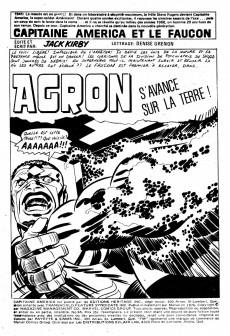 Extrait de Capitaine America (Éditions Héritage) -65- Agron s'avance sur la Terre!