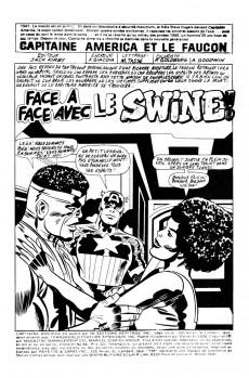 Extrait de Capitaine America (Éditions Héritage) -66- Face à face avec le Swine!