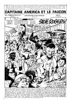 Extrait de Capitaine America (Éditions Héritage) -7677- En quête de Steve Rogers!
